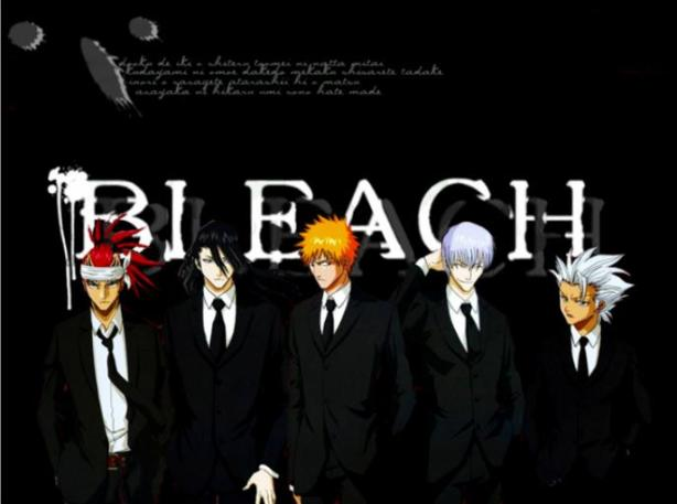 Bleach in Black