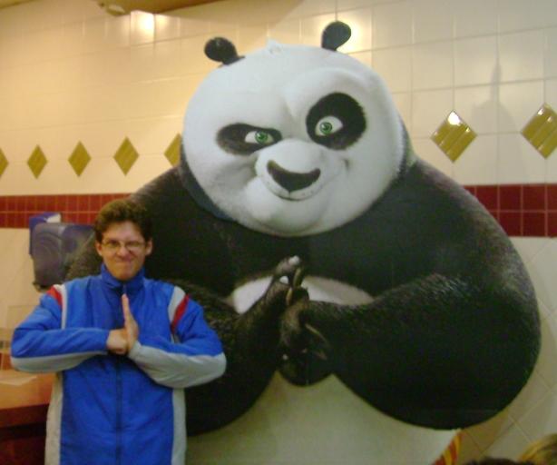 Kung Fu Panda e Eu